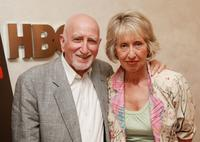 Dominic Chianese and his wife Jane at the HBO screening of the series finale of