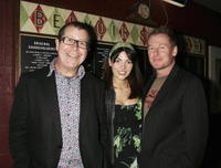 Director Neil Armfield, Silvia Colloca and Richard Roxburgh at the Company B's 2007 season launch.
