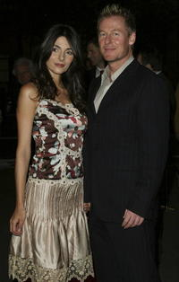 Silvia Colloca and Richard Roxburgh at the premiere of
