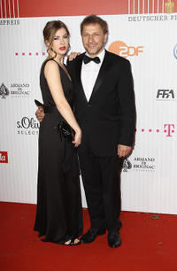 Paulina Muller and Richy Muller at the German Film Award 2011.
