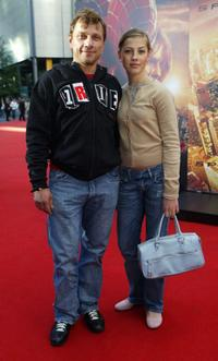 Richy Muller and his daughter Pauline at the German premiere of