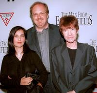 George Hickenlooper, his wife and Rodney Bingenheimer at the premiere of
