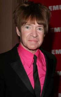 Rodney Bingenheimer at the EMI Post Grammy party.