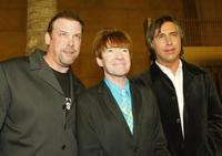 Tommy Perna, Rodney Bingenheimer and Chris Carter at the premiere of