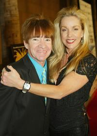 Rodney Bingenheimer and Cherie Currie at the premiere of