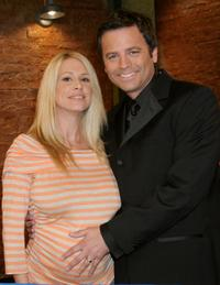 Pamela Paulshock and Roger Lodge at the Blind Date 1000th episode celebrations.