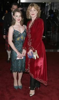 Samantha Bond and her daughter Holly at the Royal Film Performance 2006.