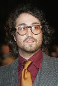 Sean Lennon at the Brit Awards 2008.
