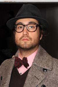 Sean Lennon at the Mercedes-Benz Fall 2009 Fashion Week.