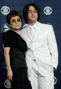 Yoko Ono and Sean Lennon at the 46th Annual Grammy Awards.