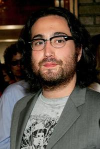 Sean Lennon at the opening of the musical