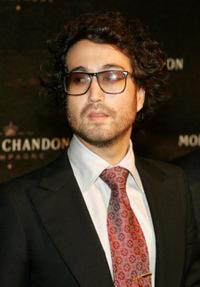 Sean Lennon at the Moet & Chandon Fabulous Fete on Liberty Island.