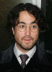 Sean Lennon at the taping of MTV 2.