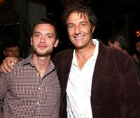 Robert Traill and Shaun Tomson at the after party of the premiere of
