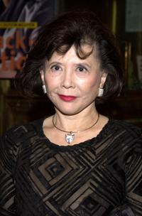 Tsai Chin at the at the Second Annual AMMY Awards.