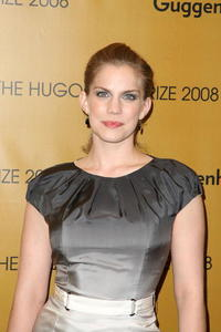 Anna Chlumsky at the Hugo Boss Prize 2008.