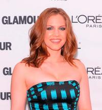 Anna Chlumsky at the Glamour Magazine 2009 Women of The Year Honors.