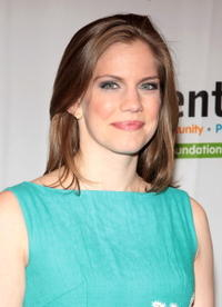 Anna Chlumsky at the Royal Gala Auction premiere to benefit Mentor Foundation.