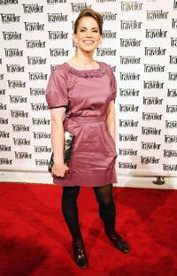 Anna Chlumsky at the Conde Nast Traveler Readers' Choice Awards.