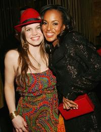 Anna Chlumsky and Kerry Washington at the