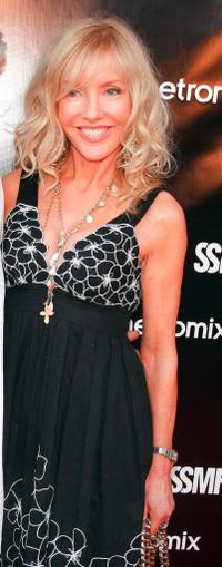 Shelby Chong at the Sunset Strip Music Festival's opening night ceremony.