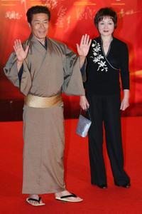 Yasuaki Kurata and Guest at the 27th Hong Kong Film Awards.