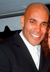 Real Andrews at the 30th Annual Daytime Emmy Awards.