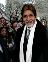 Amitabh Bachchan at the Alice Tully Hall In Lincoln Center.