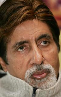 Amitabh Bachchan at the Lincoln Center's Walter Reade Theater.