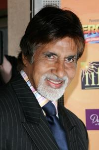 Amitabh Bachchan at the International Indian Film Academy Awards launch party.