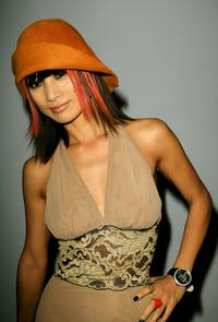 Bai Ling at the Mercedes Benz Fashion Week.