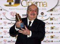Lino Banfi at the Grolle d'Oro Italian Movie Awards.
