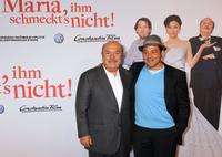 Lino Banfi and Leonardo Nigro at the world premiere of