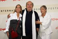Diana de Curtis, Lino Banfi and Iliana de Curtis at the photocall for