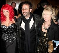 Jane Goldman, David Baddiel and Morwenna Banks at the Orange British Academy Film Awards.