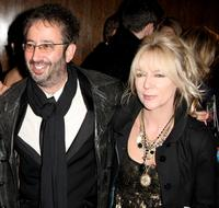 David Baddiel and Morwenna Banks at the Orange British Academy Film Awards.