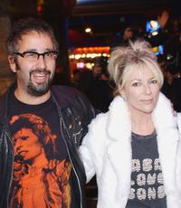 David Baddiel and Morwenna Banks at the UK premiere of