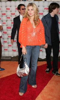 Anita Barone at the Fox All-Star Television Critics Association party.