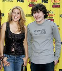 Anita Barone and Kyle Sullivan at the 2005 Teen Choice Awards.