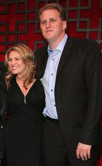 Anita Barone and Michael Rapaport at the FOX Broadcasting Company Upfront.