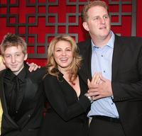 Dean Collins, Anita Barone and Michael Rapaport at the FOX Broadcasting Company Upfront.