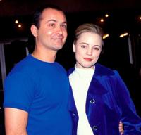Steve Bastoni and Melissa George at the premiere of