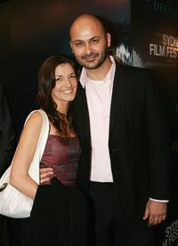 Bianca Pirrotta and Steve Bastoni at the Sydney Film Festival opening night.
