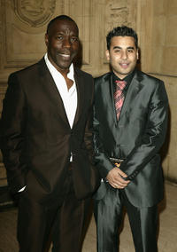 Gary Beadle and Ameet Chana at the 10th Anniversary National Television Awards in London.