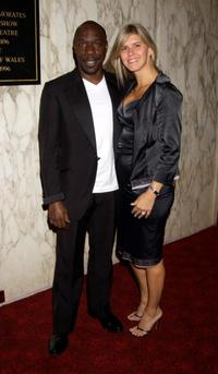 Gary Beadle and his wife at the Screen Nation Film and Television Awards 2003.
