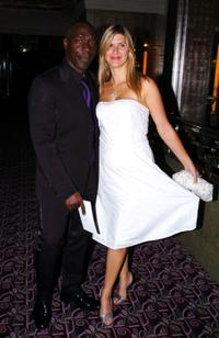 Gary Beadle and his partner at the Screen Nation Film and Television Awards 2004.