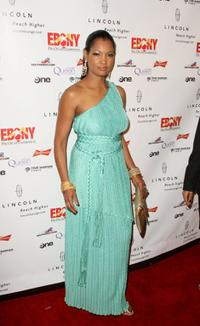 Garcelle Beauvais at the Ebony Magazine Pre-Oscar Celebration-Take 4.