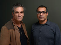 Alon Aboutboul and director Yossi Madmony at the portrait session of