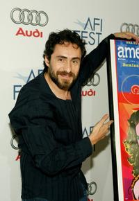 Demian Bichir at the North American premiere of