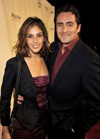 Sandra Echeverria and Demian Bichir at the